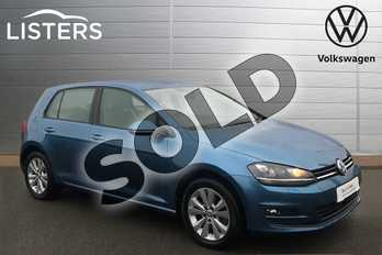 Volkswagen Golf 1.4 TSI SE 5dr DSG in Pacific Blue at Listers Volkswagen Stratford-upon-Avon