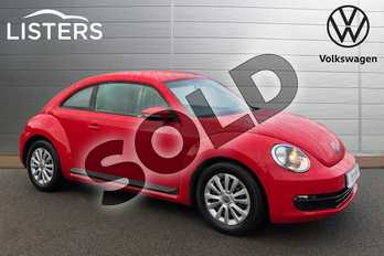 Volkswagen Beetle 1.2 TSI 3dr in Flash Red at Listers Volkswagen Stratford-upon-Avon