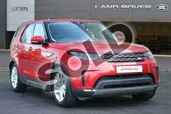 Land Rover Discovery 3.0 TD6 SE 5dr Auto in Firenze Red at Listers Land Rover Hereford