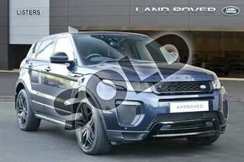 Range Rover Evoque Diesel 2.0 TD4 HSE Dynamic 5dr Auto in Loire Blue at Listers Land Rover Hereford
