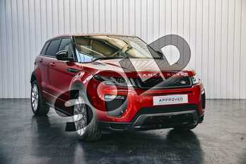 Range Rover Evoque Diesel 2.0 TD4 HSE Dynamic Lux 5dr Auto in Firenze Red at Listers Land Rover Solihull