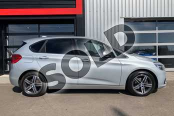BMW 2 Series 218d Sport 5dr Step Auto in Metallic - Glacier Silver at Listers Toyota Grantham