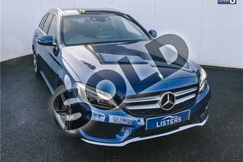 Mercedes-Benz C Class C220d AMG Line Premium Plus 5dr Auto in Metallic - Brilliant blue at Listers U Solihull