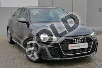 Audi A1 40 TFSI S Line Competition 5dr S Tronic in Myth Black Metallic at Stratford Audi
