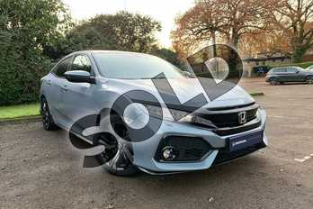 Honda Civic 1.5 VTEC Turbo Sport 5dr in Sonic Grey at Listers Honda Coventry