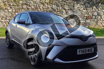 Toyota C-HR 1.8 Hybrid Excel 5dr CVT in Metal Stream at Listers Toyota Boston