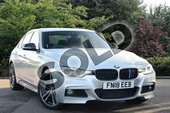 BMW 3 Series Special Edition 335d xDrive M Sport Shadow Edition 4dr Step Auto in Silver at Listers Toyota Nuneaton