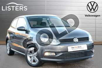 Volkswagen Polo 1.2 TSI Match 3dr in Nimbus Grey at Listers Volkswagen Leamington Spa