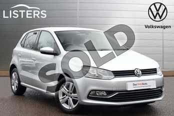 Volkswagen Polo 1.0 Match Edition 5dr in Reflex silver at Listers Volkswagen Leamington Spa