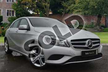 Mercedes-Benz A Class Special Editions A180 CDI Sport Edition 5dr in Polar Silver at Mercedes-Benz of Grimsby