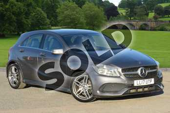 Mercedes-Benz A Class Diesel A200d AMG Line 5dr in Mountain Grey at Mercedes-Benz of Grimsby
