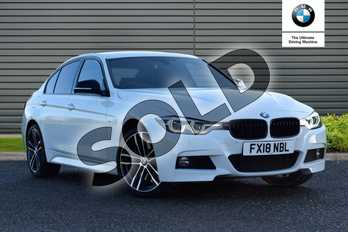 BMW 3 Series Special Edition 335d xDrive M Sport Shadow Edition 4dr Step Auto in Alpine White at Listers Boston (BMW)