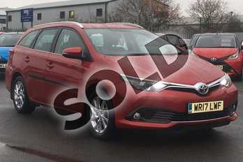Toyota Auris Touring Sport 1.2T Icon 5dr in Red at Listers Toyota Lincoln