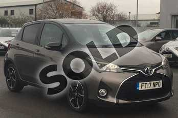 Toyota Yaris 1.33 VVT-i Design 5dr in Brown at Listers Toyota Lincoln