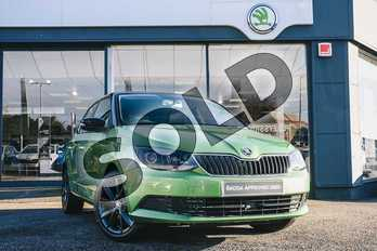 Skoda Fabia Special Editions 1.0 TSI Colour Edition 5dr in Rallye Green at Listers ŠKODA Coventry
