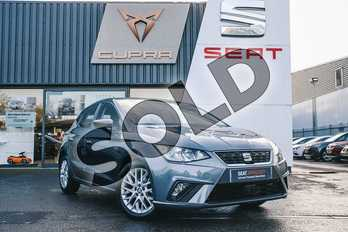 SEAT Ibiza 1.0 TSI 95 SE 5dr in Grey at Listers SEAT Coventry