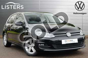 Volkswagen Golf 1.0 TSI Match BlueMotion 5dr DSG in Deep Black at Listers Volkswagen Coventry