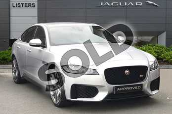 Jaguar XF 3.0 V6 Supercharged S 4dr Auto in Indus Silver at Listers Jaguar Droitwich