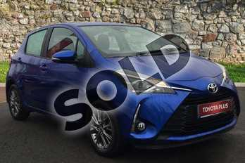 Toyota Yaris 1.5 VVT-i Icon 5dr in Blue at Listers Toyota Boston