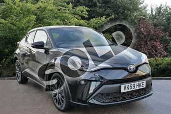 Toyota C-HR 1.8 Hybrid Excel 5dr CVT in Black at Listers Toyota Stratford-upon-Avon