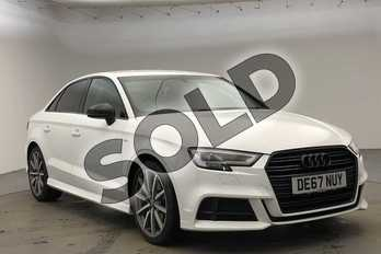 Audi A3 Special Editions 1.5 TFSI Black Edition 4dr in Ibis White at Worcester Audi