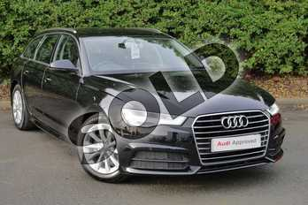 Audi A6 Diesel 2.0 TDI Ultra SE Executive 5dr S Tronic in Myth Black Metallic at Worcester Audi