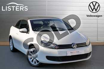 Volkswagen Golf 1.4 TSI S 2dr in Pure white at Listers Volkswagen Evesham