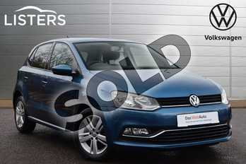 Volkswagen Polo 1.0 75 Match 5dr in Blue Silk at Listers Volkswagen Leamington Spa