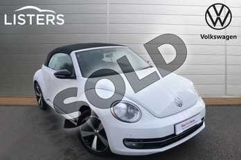 Volkswagen Beetle 1.4 TSI Sport 2dr in Pure white at Listers Volkswagen Worcester