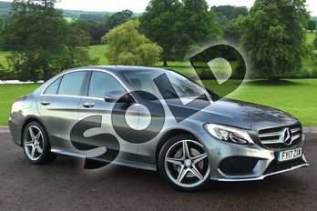 Mercedes-Benz C Class Diesel C220d AMG Line Premium 4dr 9G-Tronic in Selenite Grey Metallic at Mercedes-Benz of Grimsby