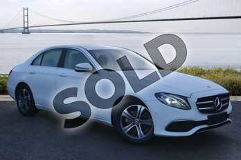 Mercedes-Benz E Class E 200 SE 4dr 9G-Tronic in polar white at Mercedes-Benz of Hull