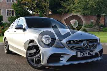 Mercedes-Benz C Class Diesel C220d AMG Line Premium 4dr 9G-Tronic in iridium silver metallic at Mercedes-Benz of Lincoln