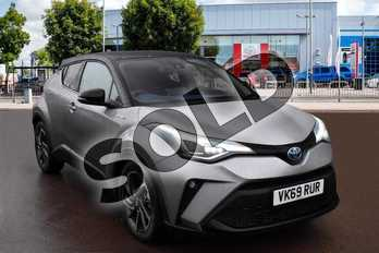 Toyota C-HR 2.0 Hybrid Dynamic 5dr CVT in Metal Stream at Listers Toyota Cheltenham
