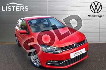 Volkswagen Polo 1.2 TSI SE 5dr in Flash Red at Listers Volkswagen Worcester