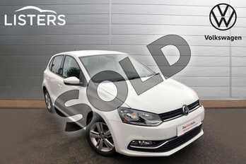 Volkswagen Polo 1.0 75 Match Edition 5dr in Pure white at Listers Volkswagen Worcester