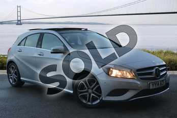 Mercedes-Benz A Class A 180 Sport in Polar Silver at Mercedes-Benz of Hull