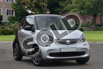 Smart Fortwo Coupe 1.0 Prime Premium 2dr Auto in cool silver metallic at smart at Mercedes-Benz of Lincoln