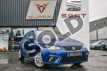 SEAT Ibiza 1.0 SE 5dr in Blue at Listers SEAT Coventry