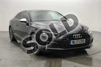 Audi A5 S5 Quattro 2dr Tiptronic in Myth Black Metallic at Worcester Audi