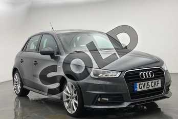 Audi A1 1.4 TFSI 150 S Line 5dr in Daytona Grey Pearlescent at Worcester Audi