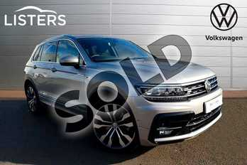 Volkswagen Tiguan 2.0 TSI 230 4Motion R Line Tech 5dr DSG in Tungsten Silver at Listers Volkswagen Coventry