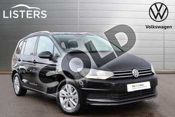 Volkswagen Touran MPV 1.5 TSI SE EVO 150PS in Deep Black at Listers Volkswagen Coventry