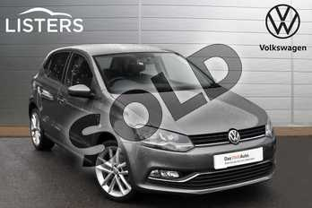 Volkswagen Polo 1.0 110 SEL 5dr in Nimbus Grey at Listers Volkswagen Evesham