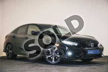 Honda Civic 1.5 VTEC Turbo Sport 5dr CVT in Black at Listers Honda Northampton
