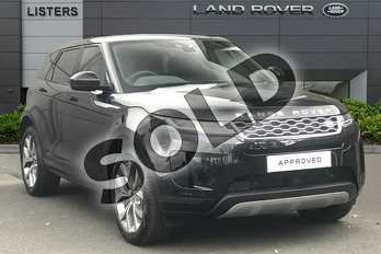 Range Rover Evoque 2.0 D180 HSE 5dr Auto in Santorini Black at Listers Land Rover Droitwich