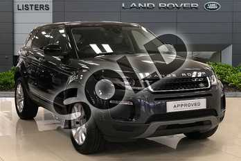 Range Rover Evoque Diesel 2.0 TD4 SE Tech 5dr Auto in Carpathian Grey at Listers Land Rover Droitwich