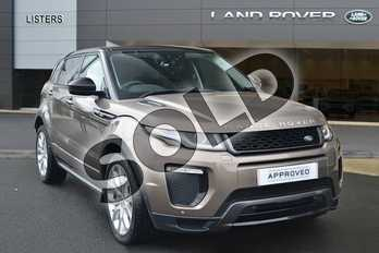 Range Rover Evoque Diesel 2.0 TD4 HSE Dynamic 5dr Auto in Kaikoura Stone at Listers Land Rover Hereford