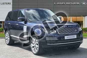 Range Rover Diesel 3.0 SDV6 Autobiography 4dr Auto in Loire Blue at Listers Land Rover Hereford