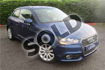 Audi A1 1.4 TFSI Sport 3dr S Tronic in Metallic - Sphere blue at Listers U Boston