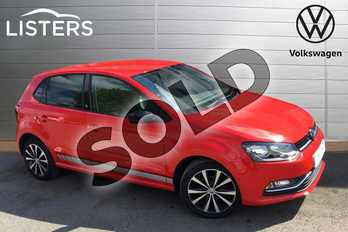 Volkswagen Polo 1.2 TSI Beats 5dr in Flash Red at Listers Volkswagen Loughborough